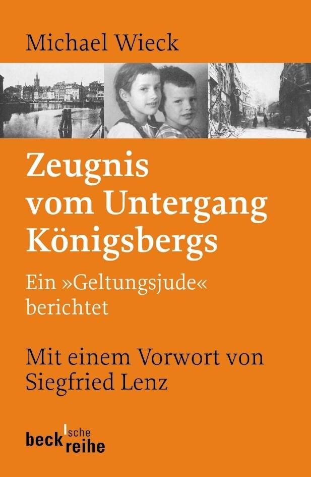 Zeugnis vom Untergang Königsbergs als Taschenbuch