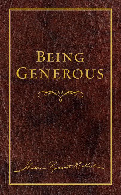 Being Generous als Buch (gebunden)