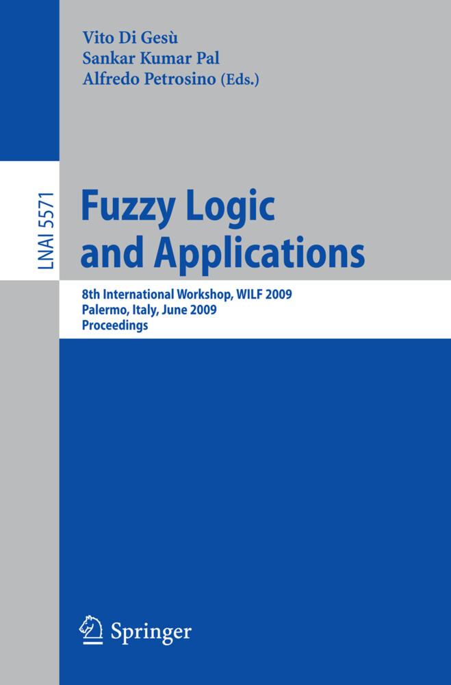 Fuzzy Logic and Applications als Buch (kartoniert)