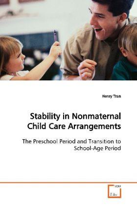 Stability in Nonmaternal Child Care Arrangements als Buch (gebunden)