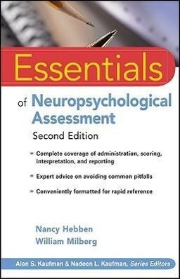Essentials of Neuropsychological Assessment als Taschenbuch