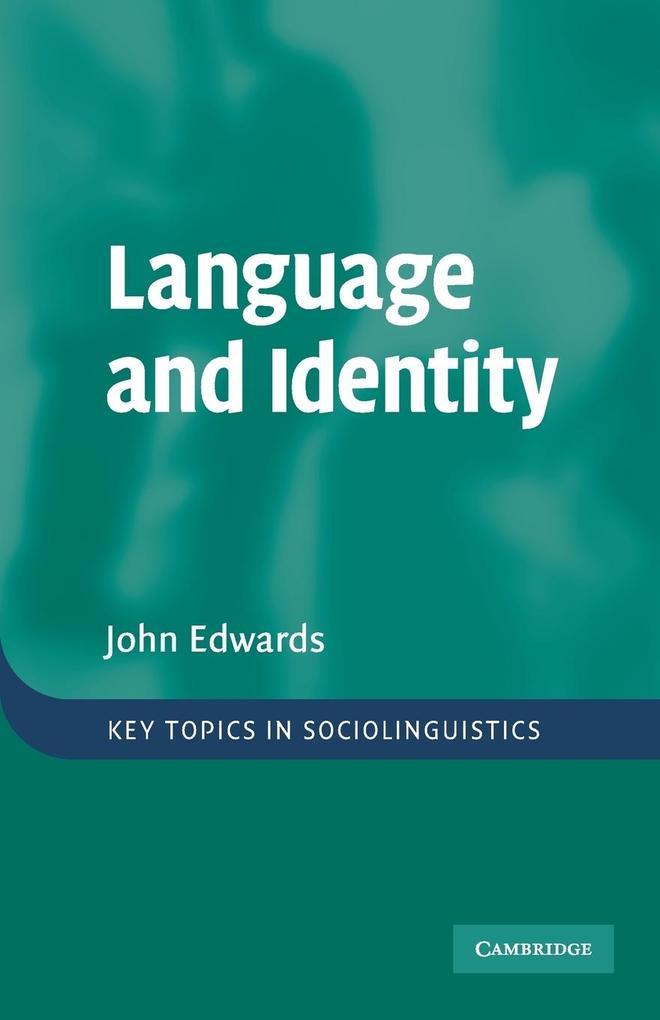 Language and Identity als Taschenbuch
