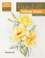 Yellow Rose in Watercolour als Taschenbuch