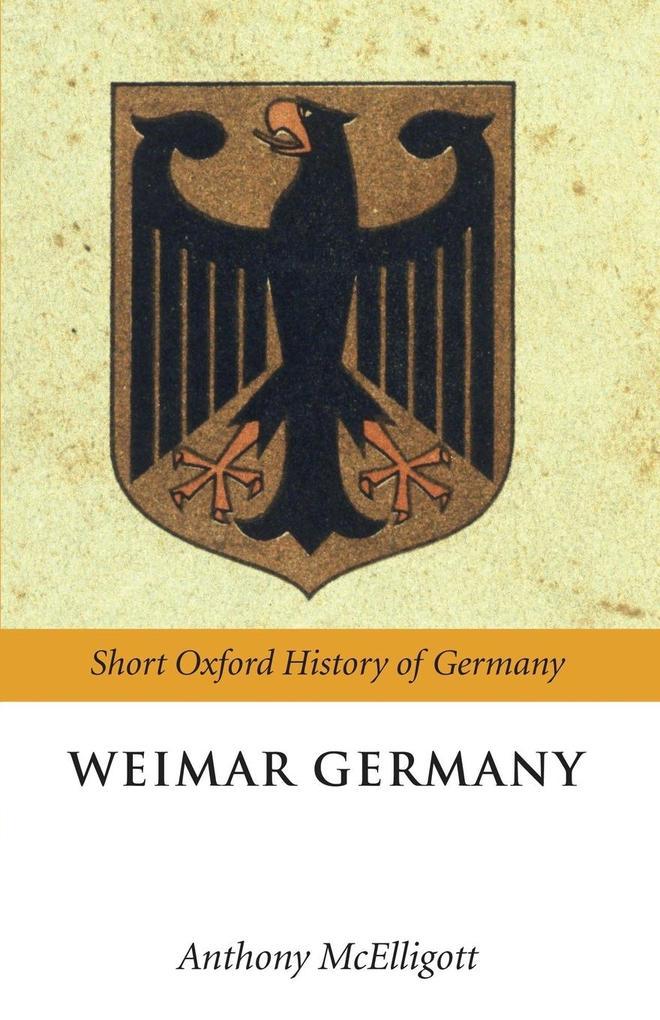 Weimar Germany als Taschenbuch