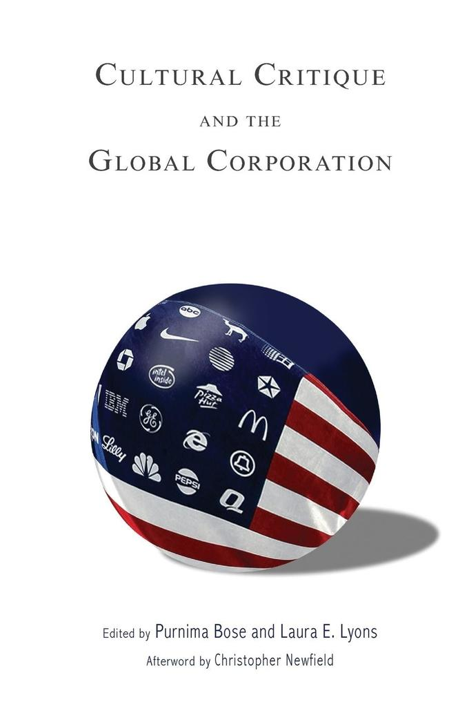 Cultural Critique and the Global Corporation als Taschenbuch
