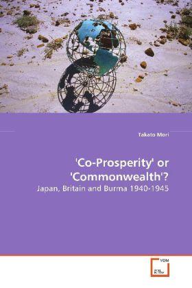 'Co-Prosperity' or 'Commonwealth'? als Buch (kartoniert)