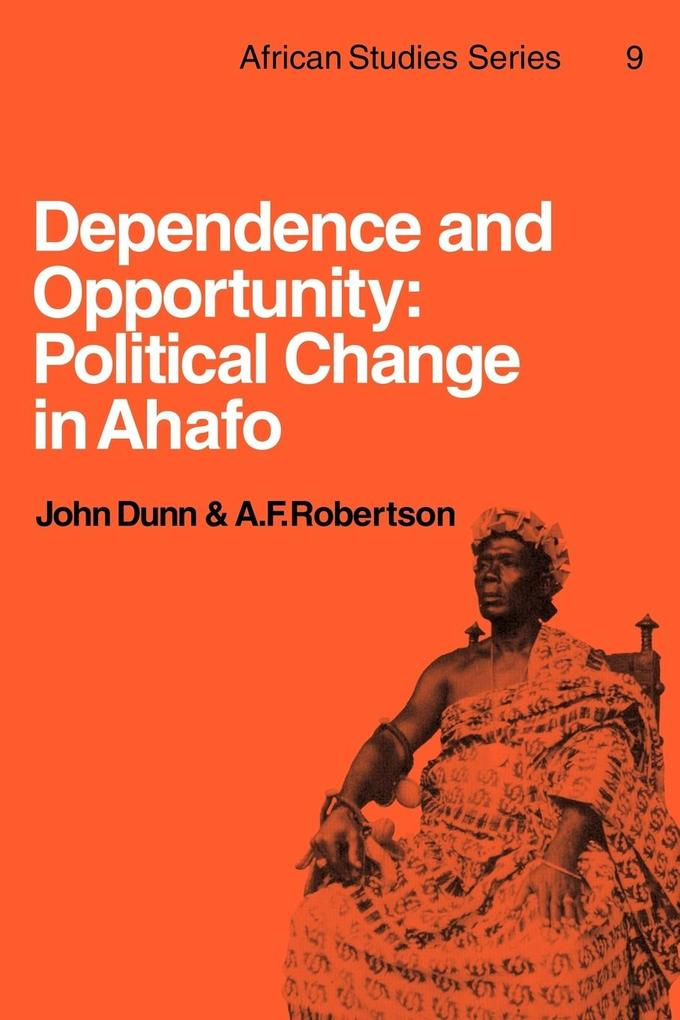Dependence and Opportunity als Taschenbuch