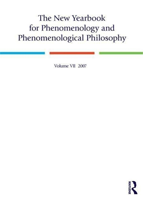 The New Yearbook for Phenomenology and Phenomenological Philosophy als Taschenbuch
