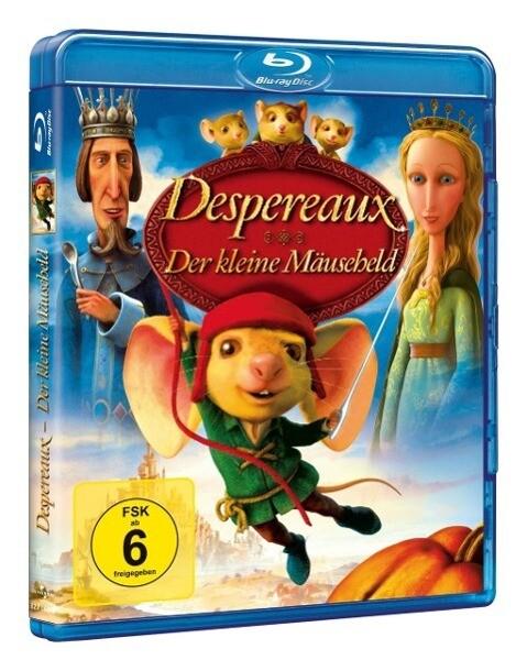 Despereaux - Der kleine Mäuseheld als Blu-ray