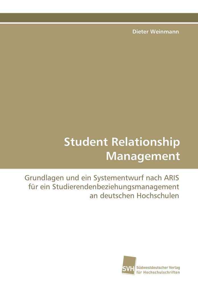 Student Relationship Management als Buch (gebunden)