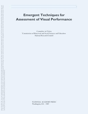 Emergent Techniques for Assessment of Visual Performance als Taschenbuch