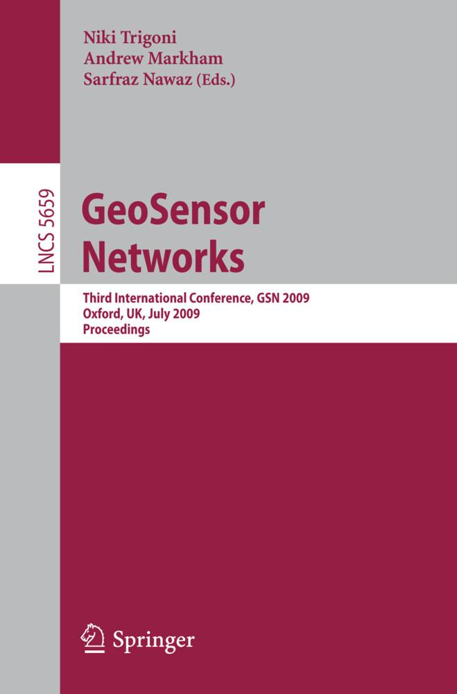 GeoSensor Networks als Buch (gebunden)
