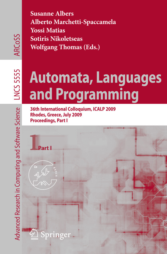 Automata, Languages and Programming als Buch (gebunden)