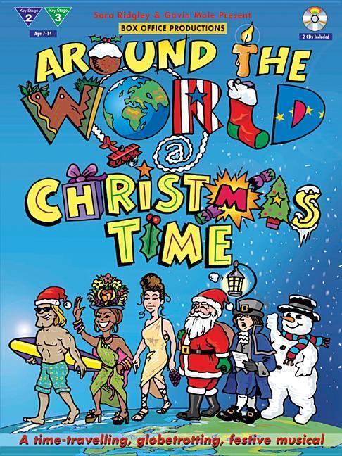 Around The World at Christmas (+ 2CDs) als Taschenbuch