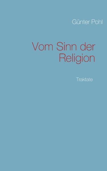 Vom Sinn der Religion als Buch (gebunden)