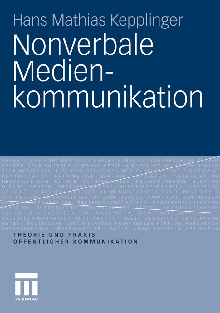 Nonverbale Medienkommunikation als Buch (kartoniert)