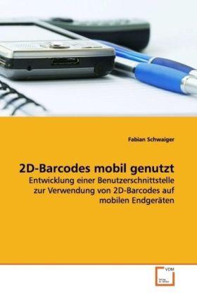 2D-Barcodes mobil genutzt als Buch (kartoniert)