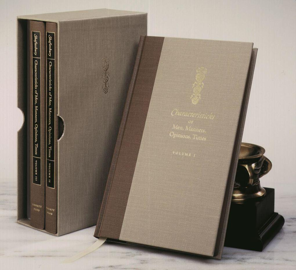 Characteristicks of Men, 3-Volume Set als Buch (gebunden)