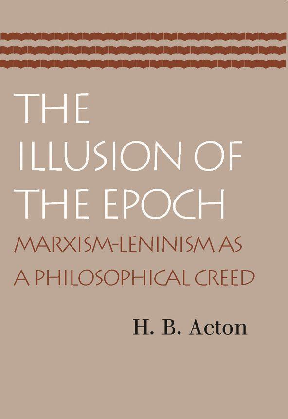 Illusion of the Epoch als Taschenbuch