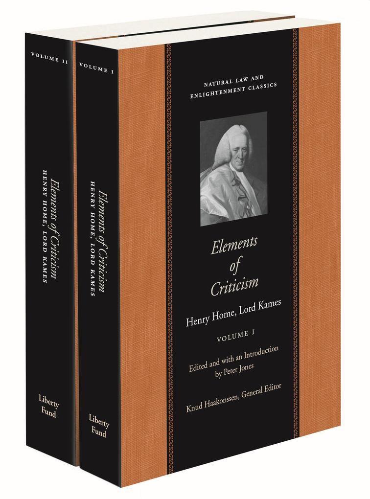 Elements of Criticism, Volumes 1 & 2 als Taschenbuch
