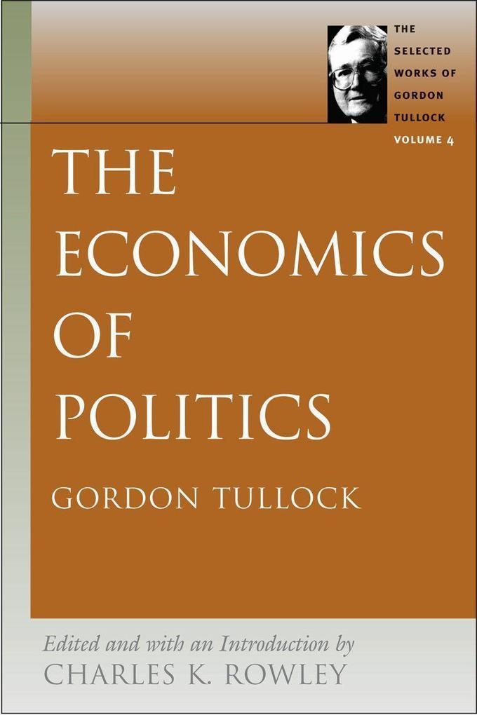 Economics of Politics als Taschenbuch