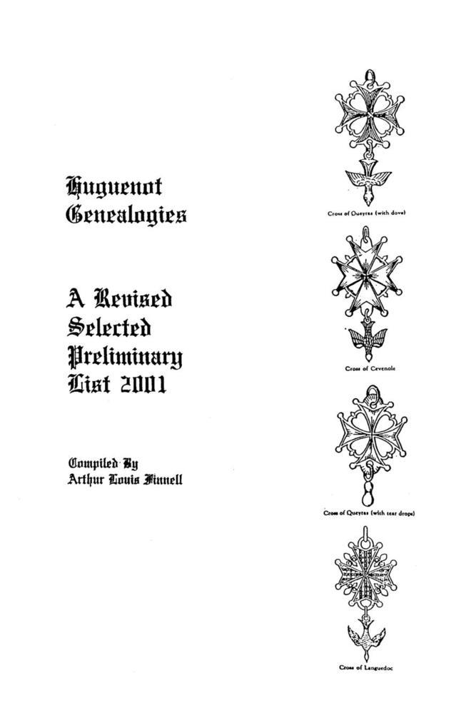 Huguenot Genealogies als Taschenbuch