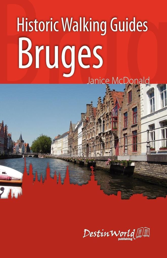 Historic Walking Guides Bruges als Taschenbuch