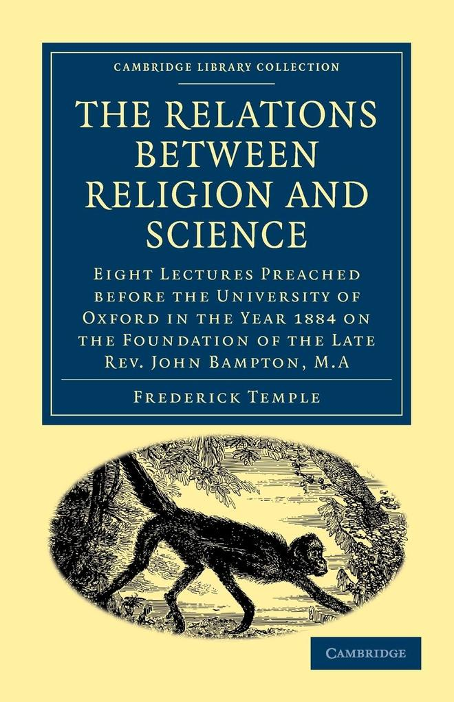 The Relations between Religion and Science als Taschenbuch