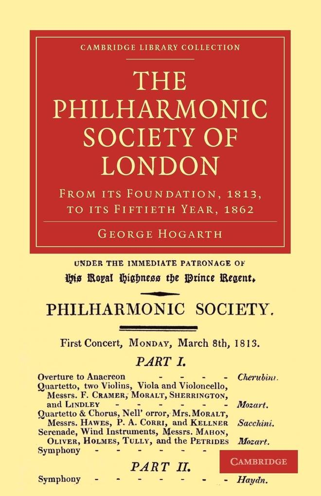 The Philharmonic Society of London als Taschenbuch