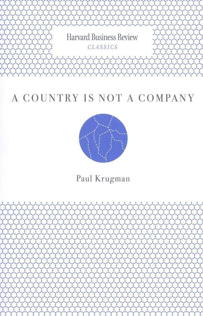 A Country Is Not a Company als Buch (kartoniert)