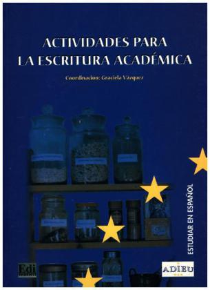 Proyecto ADIEU - Actividades escritura als Buch (kartoniert)