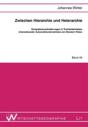 Zwischen Hierarchie und Heterarchie als Buch (gebunden)