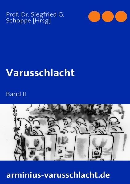 Varusschlacht als Buch (kartoniert)