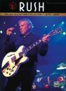 Rush: Deluxe Guitar Tab Collection 1975-2007