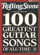 Rolling Stone 34 Selections from the 100 Greatest Guitar Songs of All Time als Taschenbuch