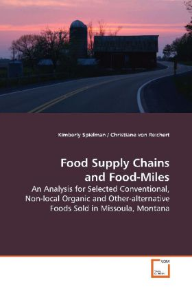 Food Supply Chains and Food-Miles als Buch (gebunden)