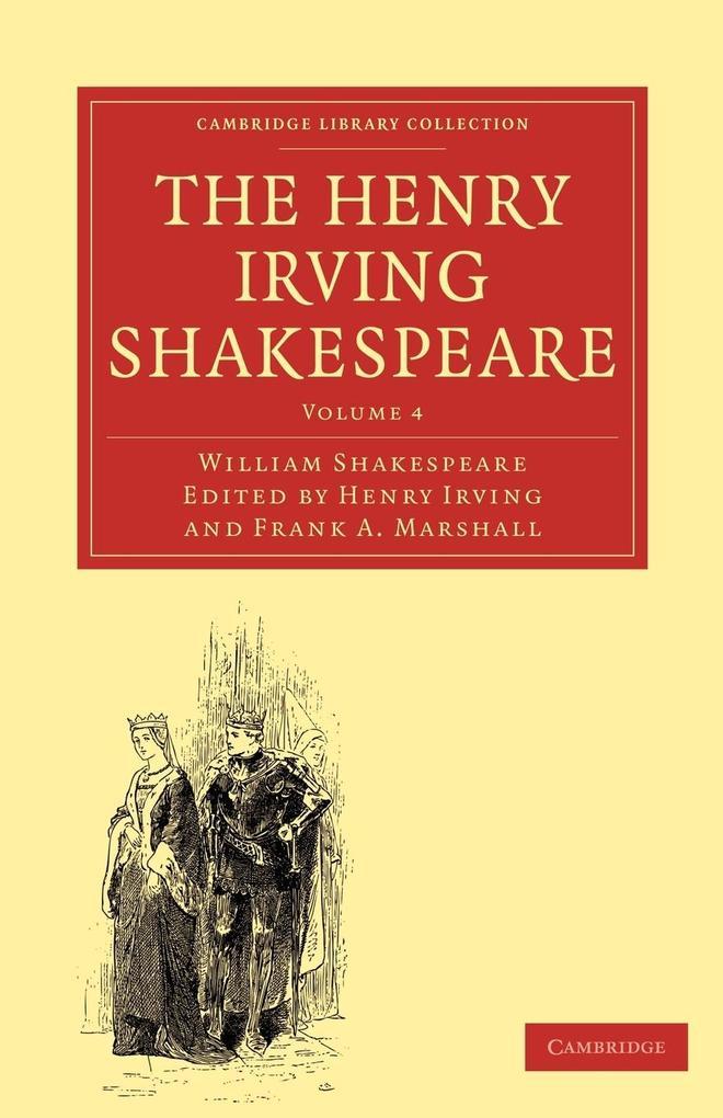 The Henry Irving Shakespeare als Taschenbuch