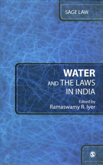 Water and the Laws in India als Buch (gebunden)