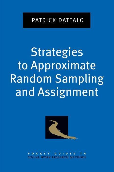 Strategies to Approximate Random Sampling and Assignment als Taschenbuch