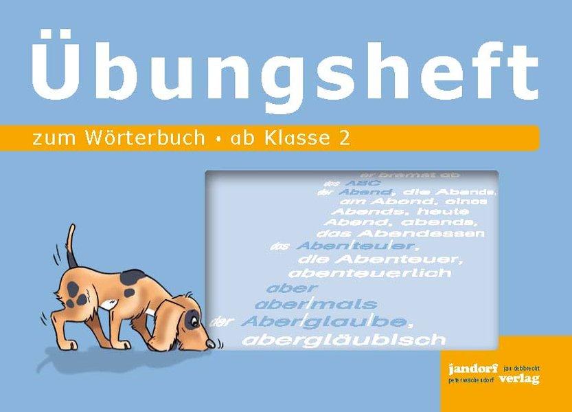 Wörterbuch Übungsheft als Buch (geheftet)