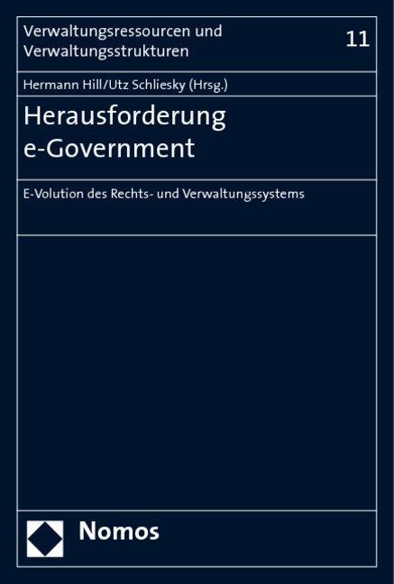 Herausforderung e-Government als Buch (kartoniert)