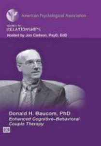 Enhanced Cognitive-Behavioral Couple Therapy als DVD