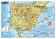 Spanien und Portugal physisch