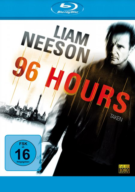 96 Hours als Blu-ray