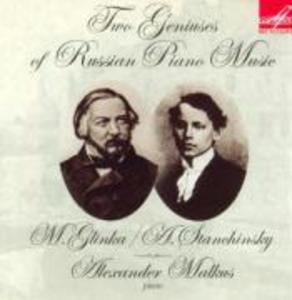 Two Geniuses of Russian Piano Music als CD