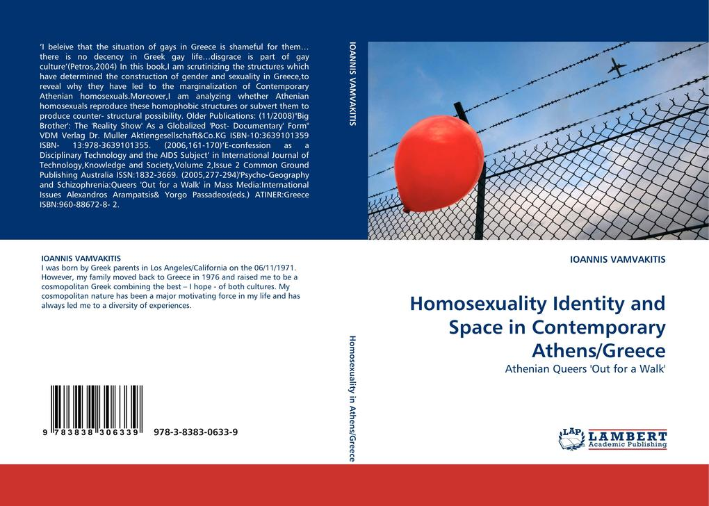 Homosexuality Identity and Space in Contemporary Athens/Greece als Buch (gebunden)
