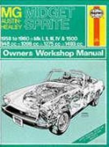 MG Midget, Austin-Healey Sprite, 1958-1980 als Taschenbuch