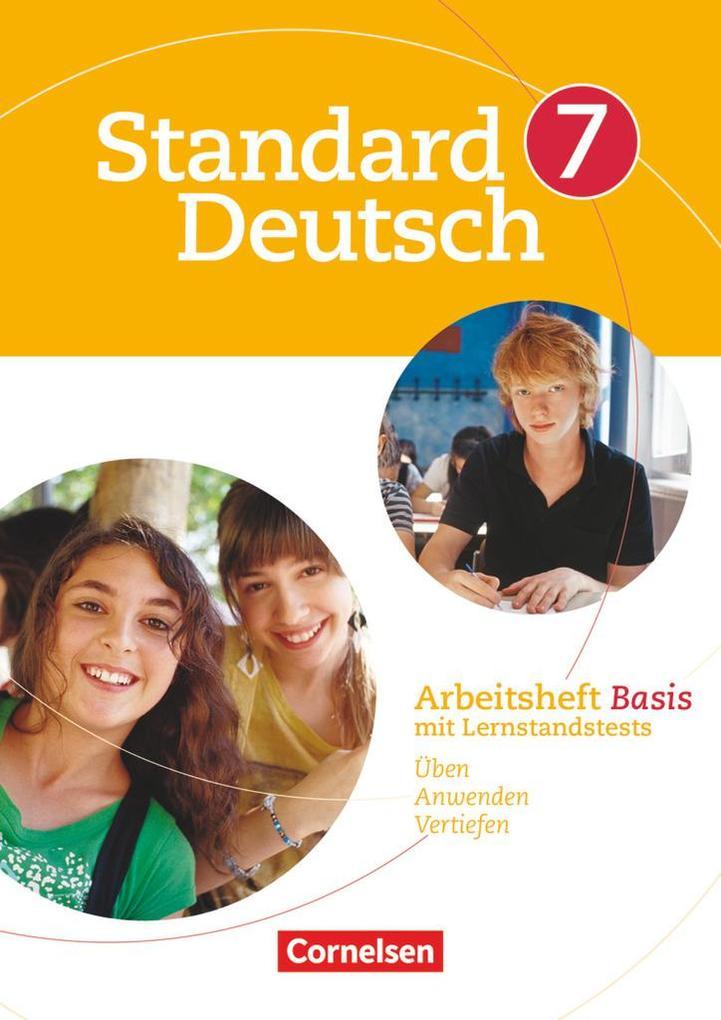 Standard Deutsch 7. Schuljahr. Arbeitsheft Basis als Buch (kartoniert)