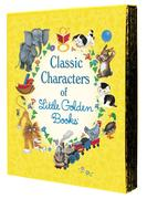 Classic Characters of Little Golden Books: The Poky Little Puppy; Tootle; The Saggy Baggy Elephant; Tawny Scrawny Lion; Scuffy the Tugboat