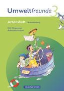 Umweltfreunde 3. Schuljahr. Neubearbeitung 2009. Arbeitsheft. Brandenburg